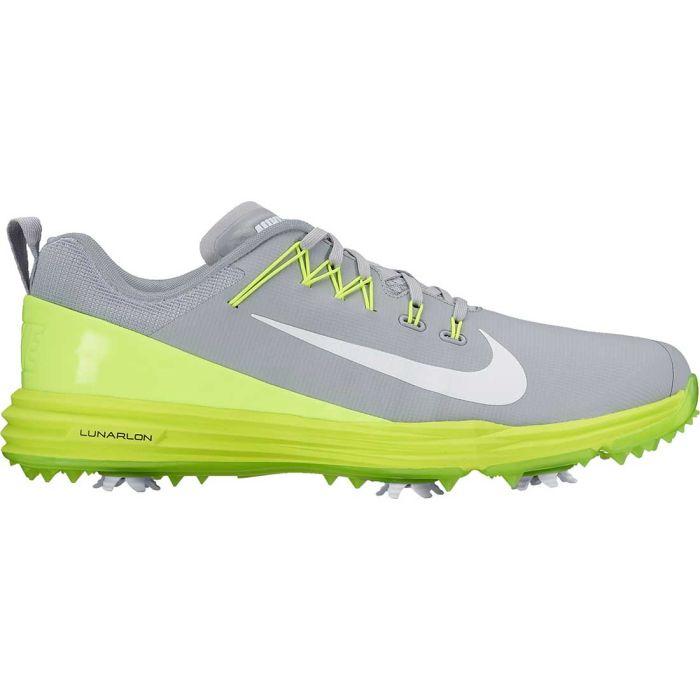 Nike Lunar Command 2 Golf Shoes Wolf Grey/Volt