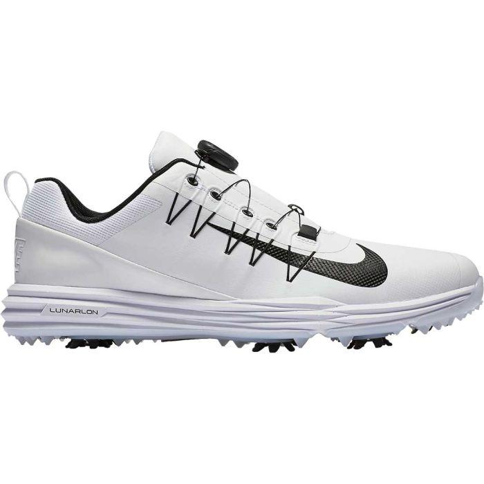 Nike Lunar Command 2 Boa Golf Shoes White/Black