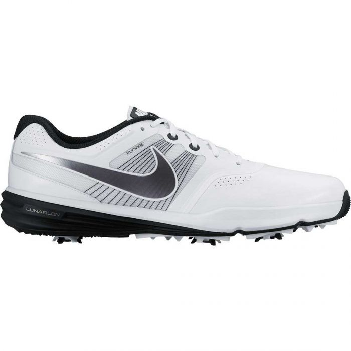 Nike Lunar Command Golf Shoes White/Black
