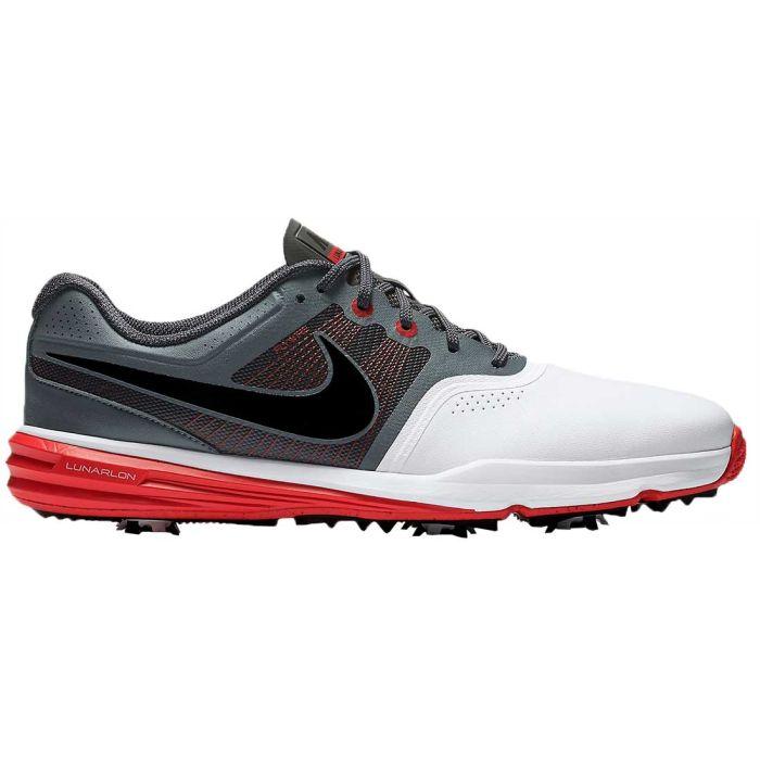 Nike Lunar Command Golf Shoes White/University Red/Black