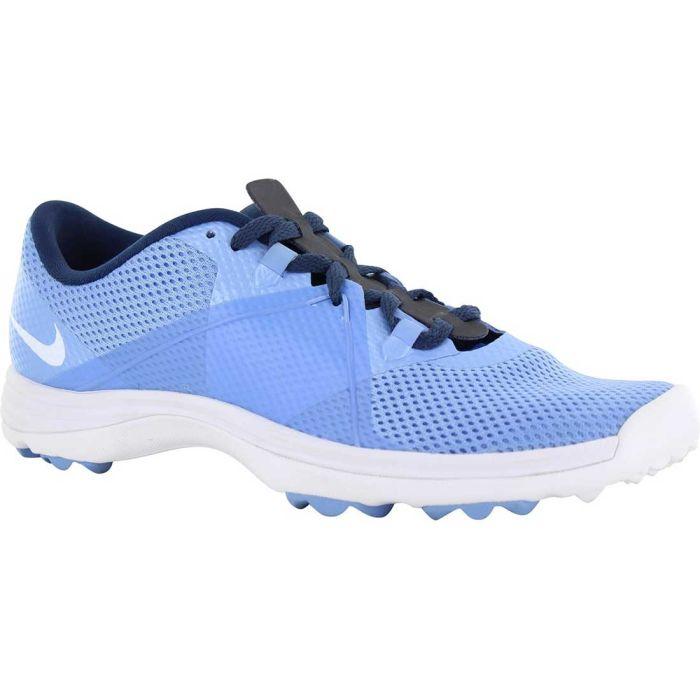 Nike Women's Lunar Summer Lite 2 Golf Shoes Chalk Blue/Navy