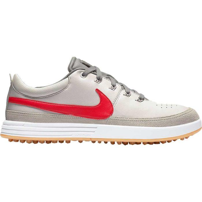 Nike Lunarwaverly Golf Shoes Bone/University Red