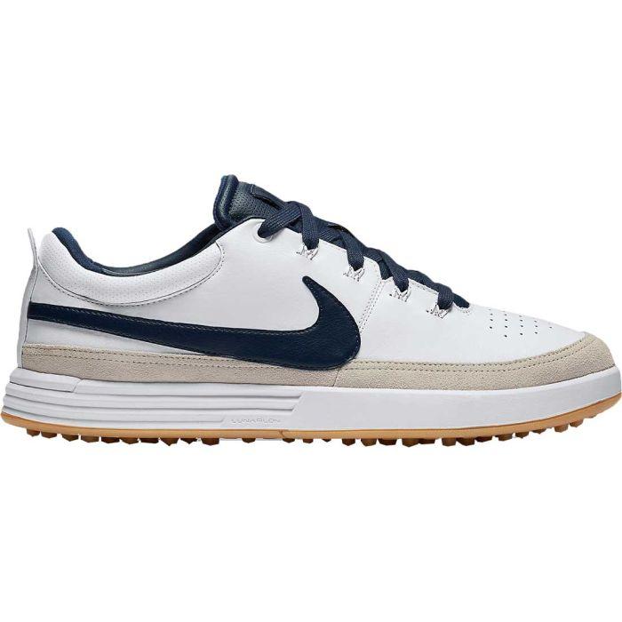 Nike Lunarwaverly Golf Shoes White/Navy
