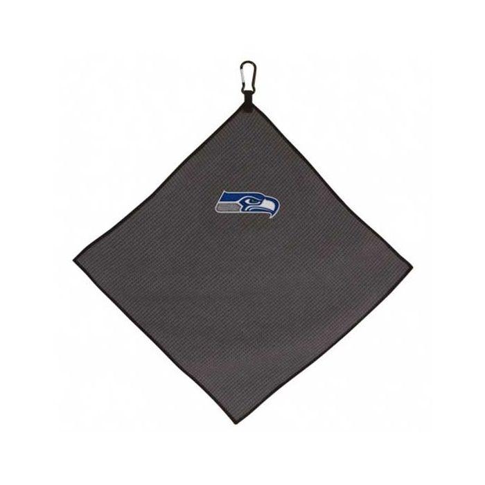 "McArthur Sports NFL 15"" X 15"" Grey Microfiber Towel"