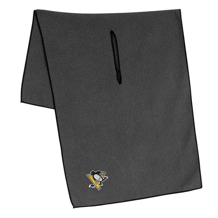 McArthur Sports NHL Grey Microfiber Towel