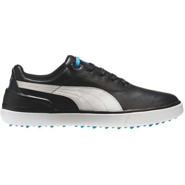 Puma Monolite V2 Golf Shoes Black/White