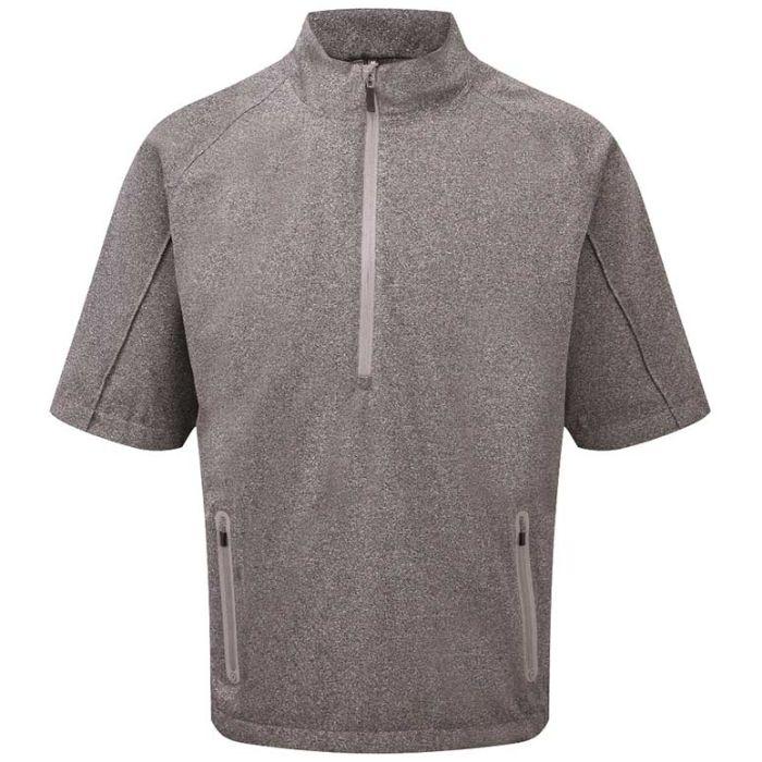 Ping Nelson 1/2 Zip Short Sleeve Rain Jacket
