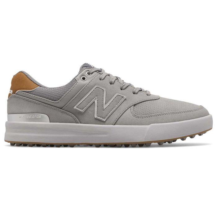 New Balance 574 Greens Golf Shoes Grey
