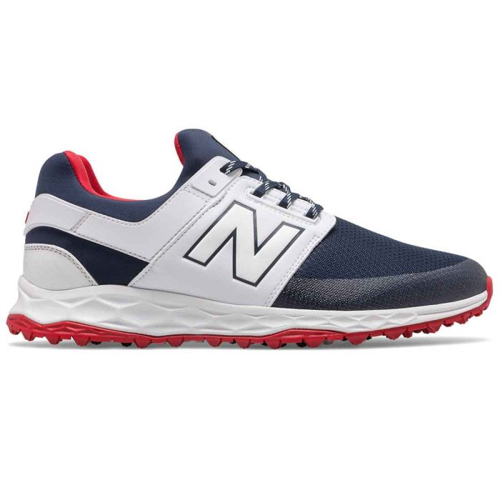 New Balance Fresh Foam Links SL Golf Shoes Navy/White/Red