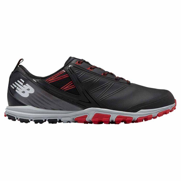 New Balance NBG1006 Minimus SL Golf Shoes Black/Red