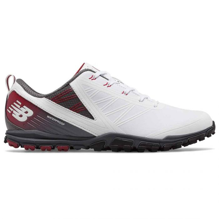 New Balance NBG1006 Minimus SL Golf Shoes White/Maroon