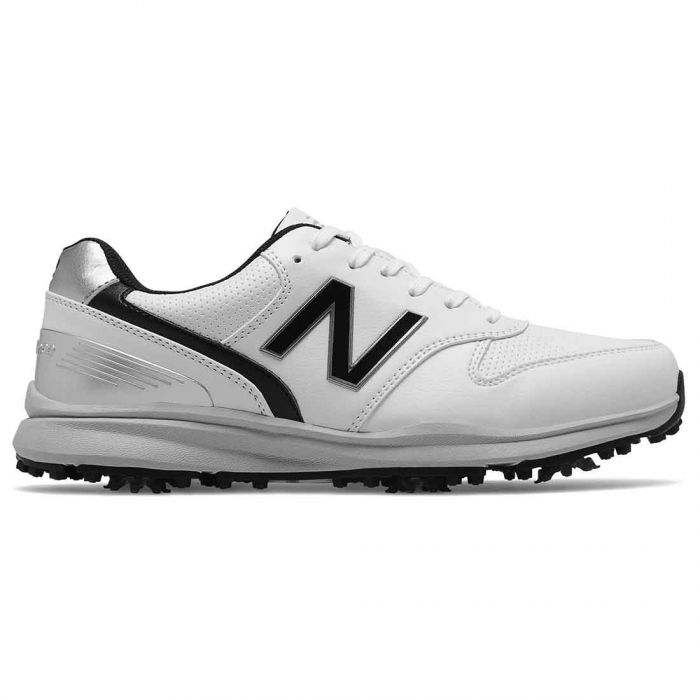 New Balance NBG1800 Sweeper Golf Shoes White/Black