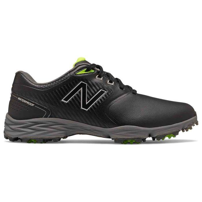 New Balance Striker V2 Golf Shoes Black/Lime