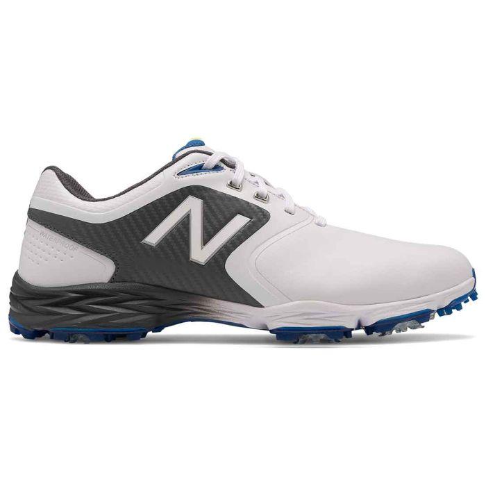 New Balance Striker V2 Golf Shoes White/Grey