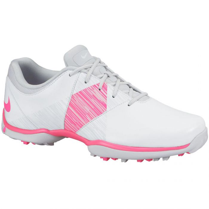 Nike Women's Delight 5 Golf Shoes White/Pink