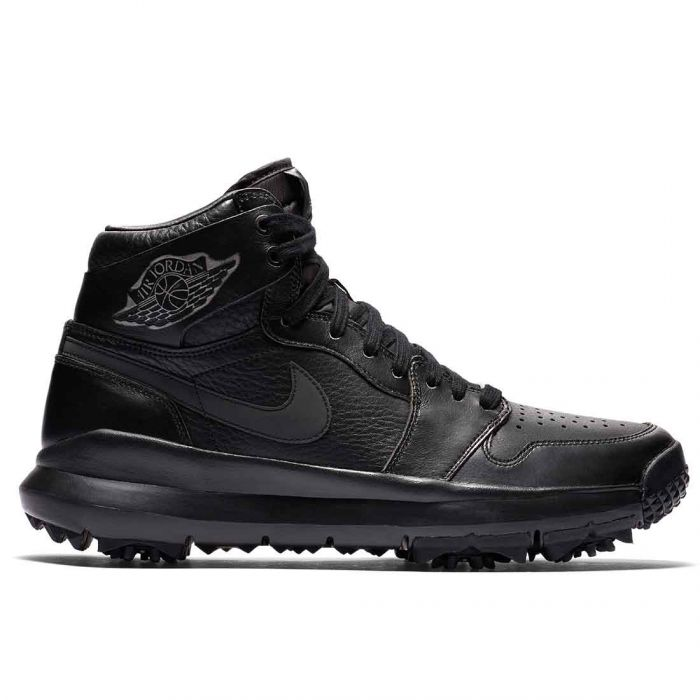 Nike Air Jordan 1 Premium Golf Shoes Black