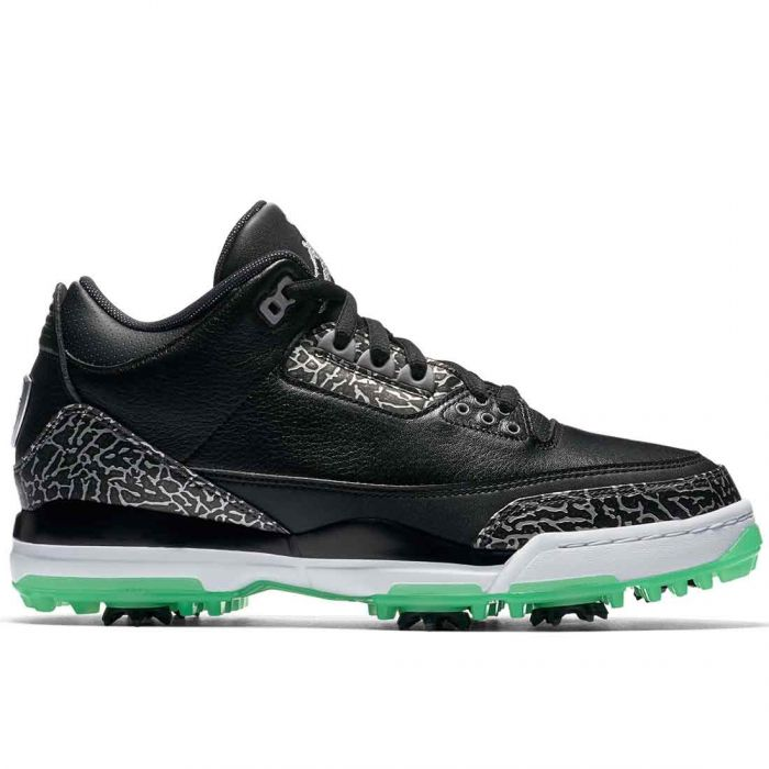 Nike Air Jordan 3 Golf Shoes Black