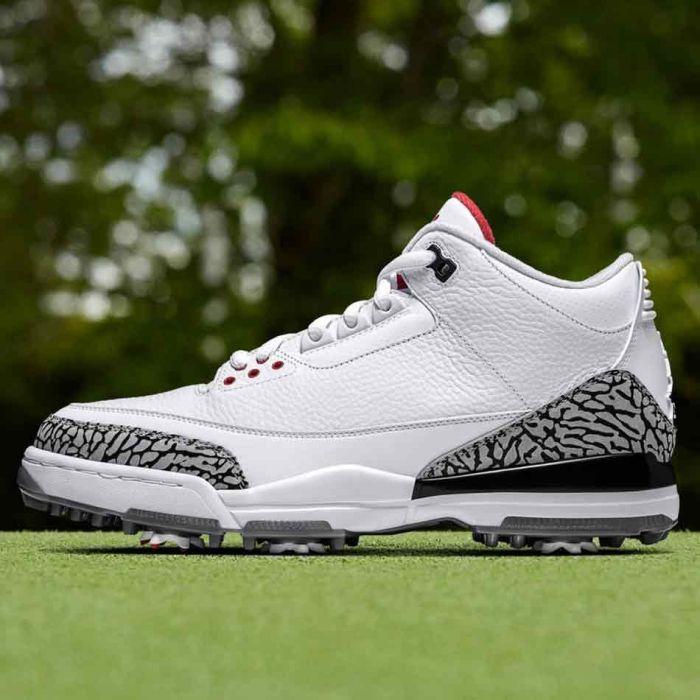 Buy Nike Air Jordan 3 Golf Shoes White