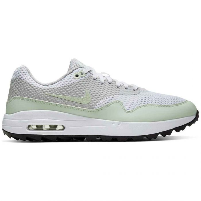 Nike Air Max 1 G Golf Shoes White/Jade Aura