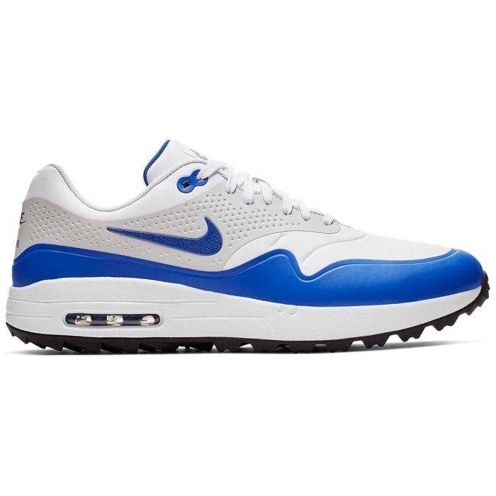 Nike Air Max 1 G Golf Shoes White/Game Royal