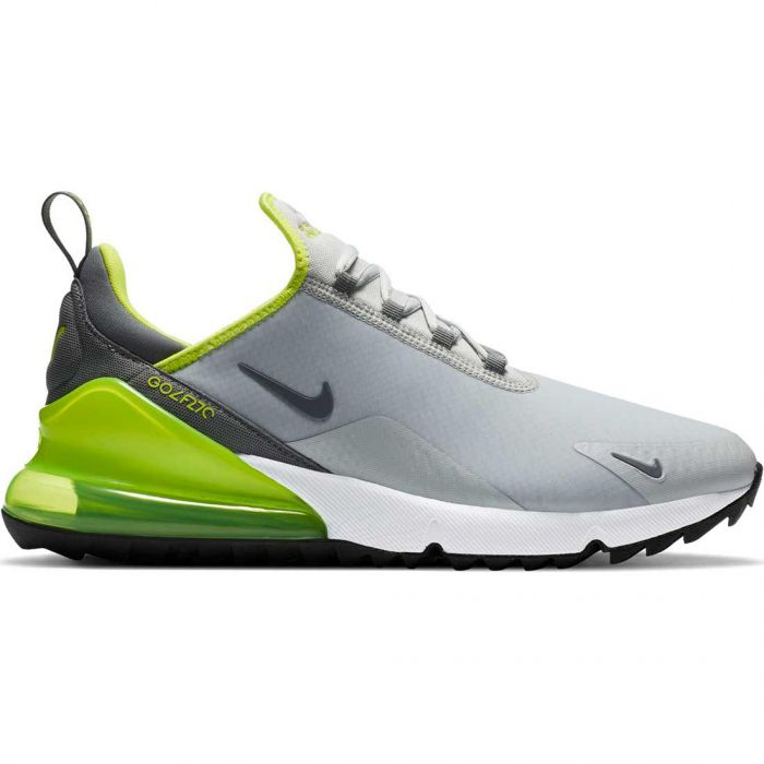 Nike Air Max 270 G Golf Shoes Grey Fog/Smoke Grey