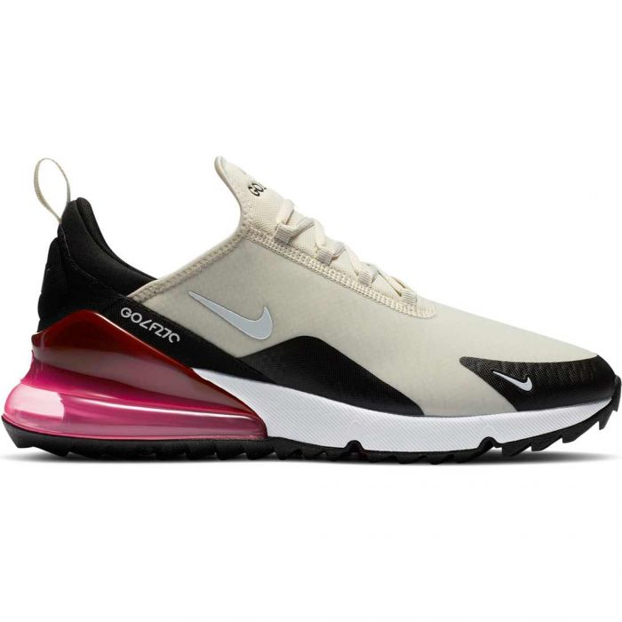 Nike Air Max 270 G Golf Shoes Light Bone/Black