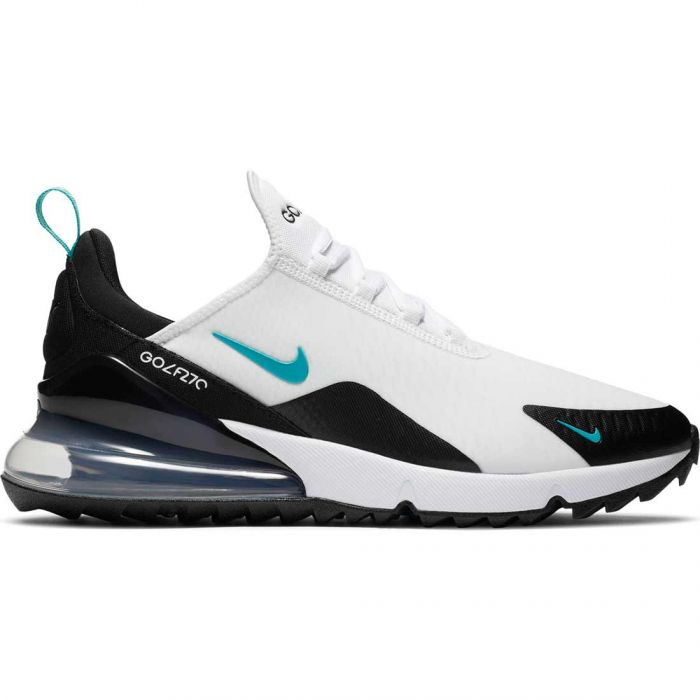 Nike Air Max 270 G Golf Shoes White/Dusty Cactus