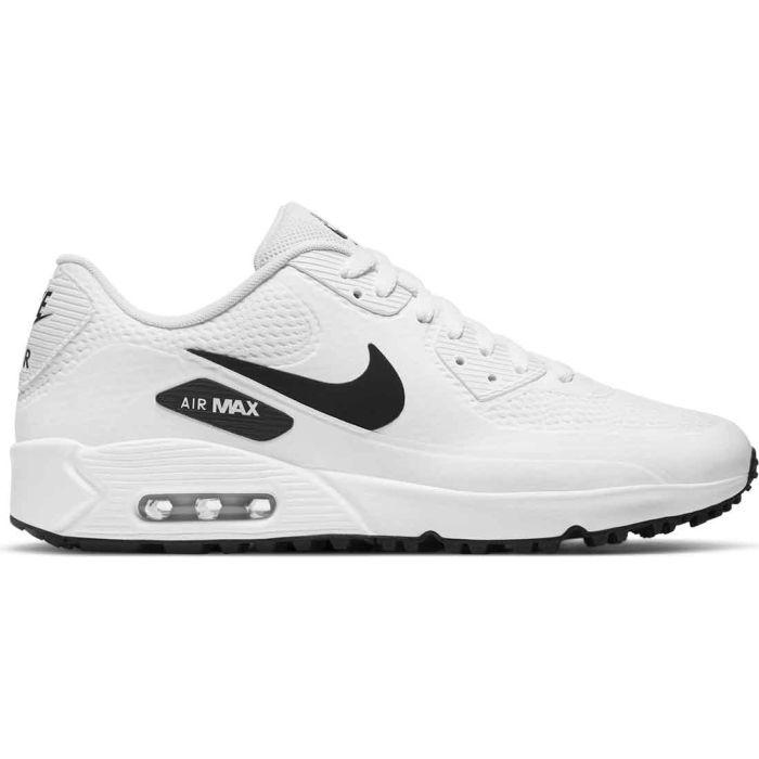 Nike Air Max 90 G Golf Shoes White/Black