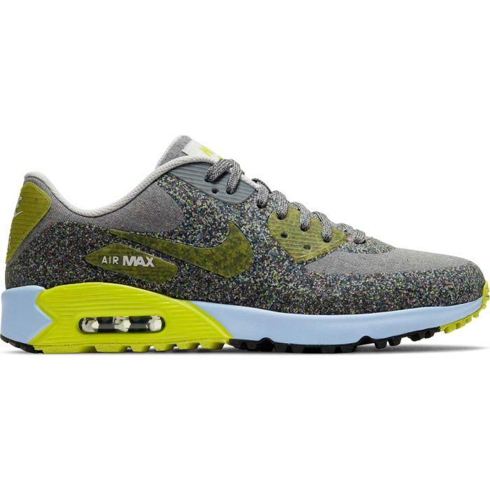 Nike Air Max 90 G NRG Golf Shoes White/Cyber Dust