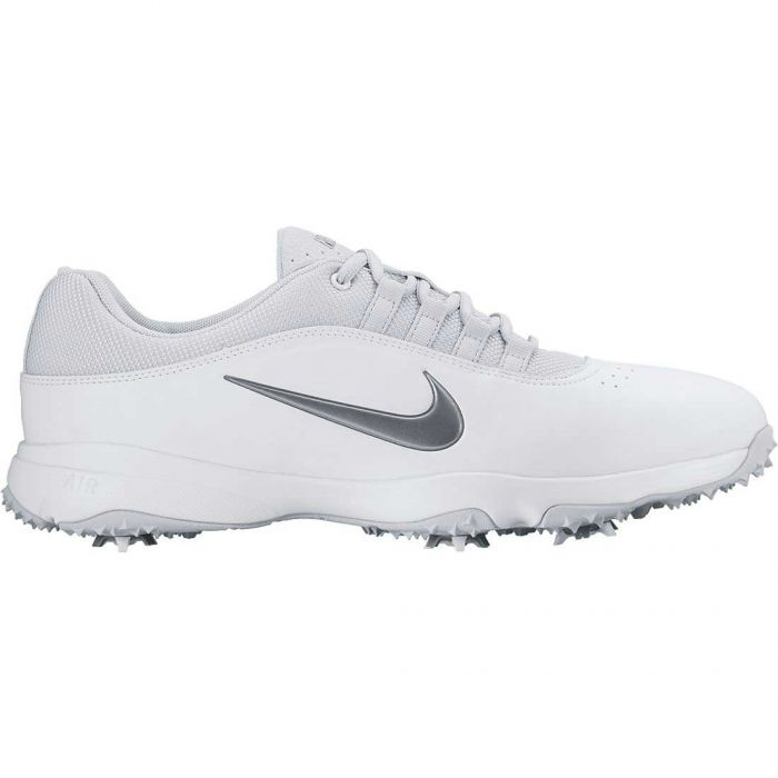 Nike Air Rival 4 Golf Shoes White/Platinum