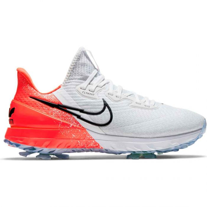 Nike Air Zoom Infinity Tour Golf Shoes White/Black/Infrared