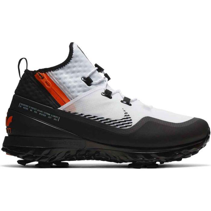 Nike Air Zoom Infinity Tour Shield Golf Shoes White/Black/Orange