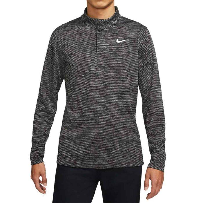 Nike Dri-FIT Victory Heather Stripe Half-Zip