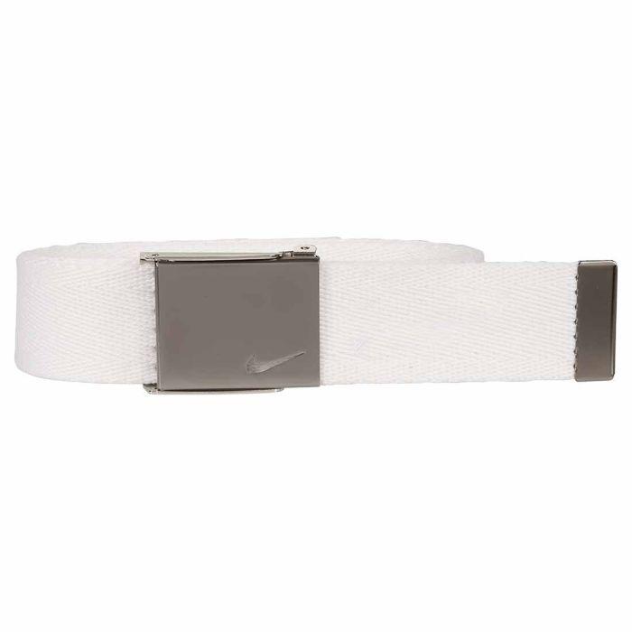 Nike Embroidered Swoosh Single Web Belt