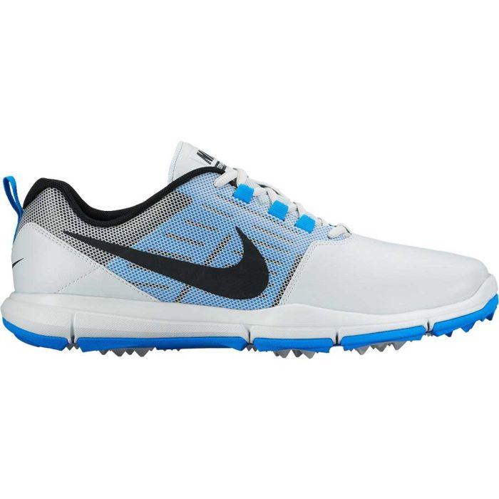 Nike Explorer SL Golf Shoes Platinum/Photo Blue