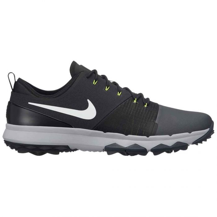 Nike FI Impact 3 Golf Shoes Anthracite/White