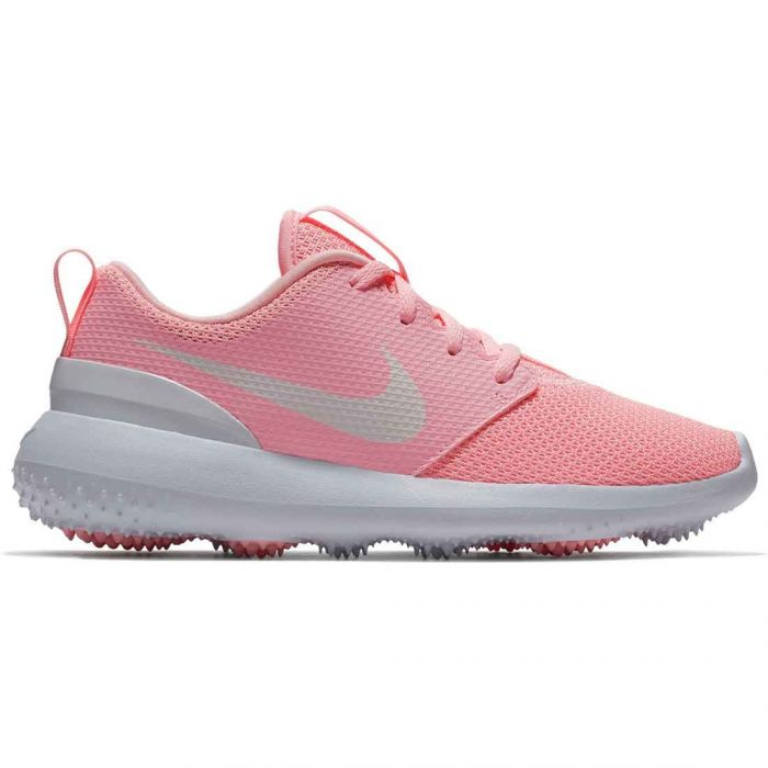 Nike Juniors Roshe G Golf Shoes Arctic Pink/White