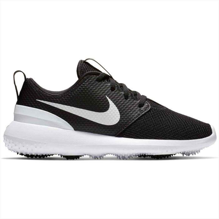 Nike Juniors Roshe G Golf Shoes Black/White