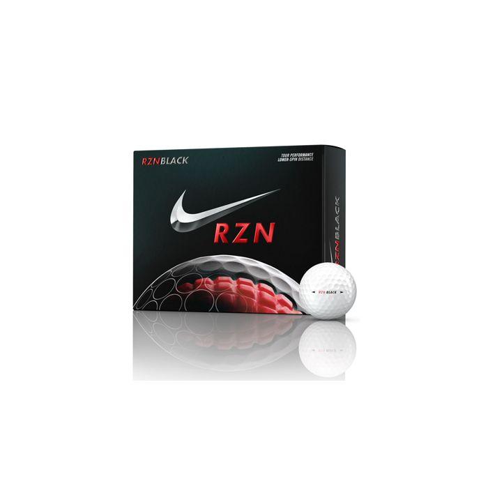 Nike RZN Black Golf Balls