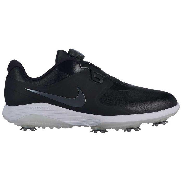 Nike Vapor Pro Boa Golf Shoes Black/Metallic Cool Grey