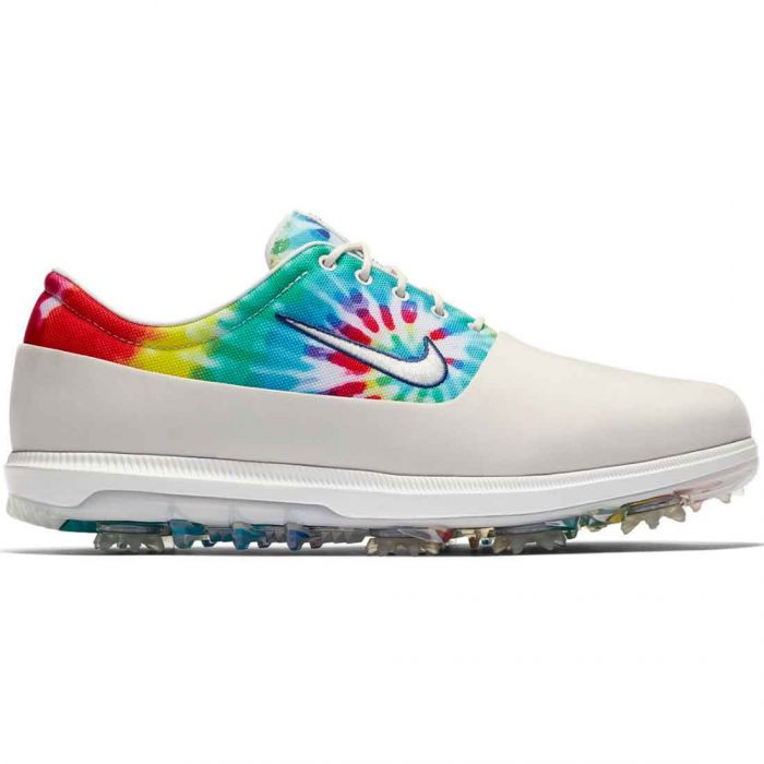 Nike Victory Tour LTD PGA Golf Shoes White/Tie Dye