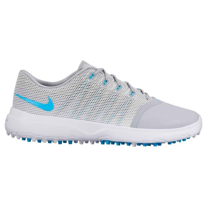 Nike Women's Lunar Empress 2 Golf Shoes Wolf Grey/Blue Fury