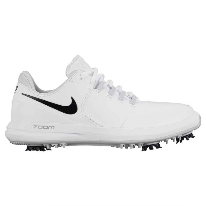 Nike Women's Air Zoom Accurate Golf Shoes White/Black