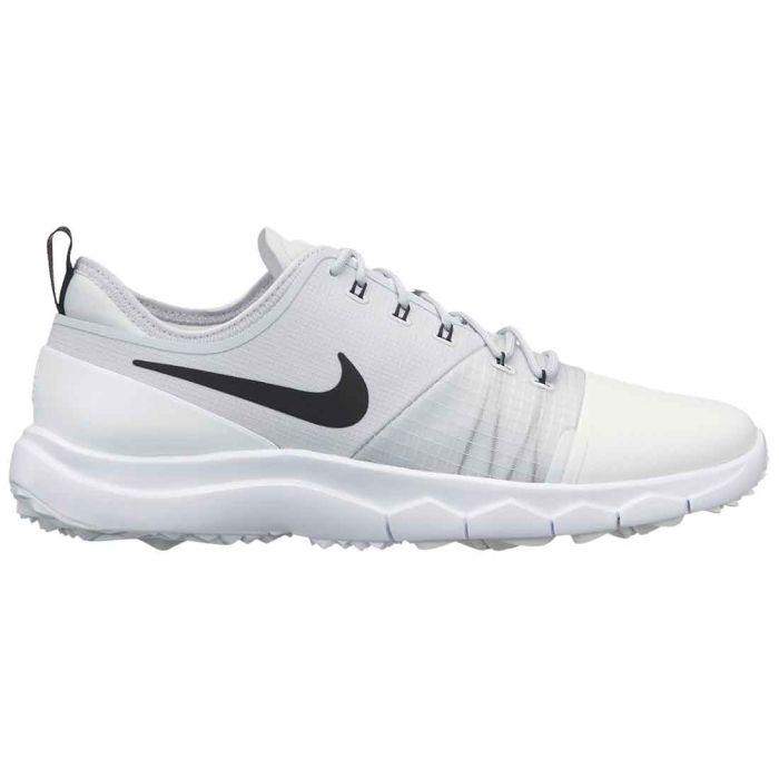 Nike Women's FI Impact 3 Golf Shoes White/Black/Pure Platinum