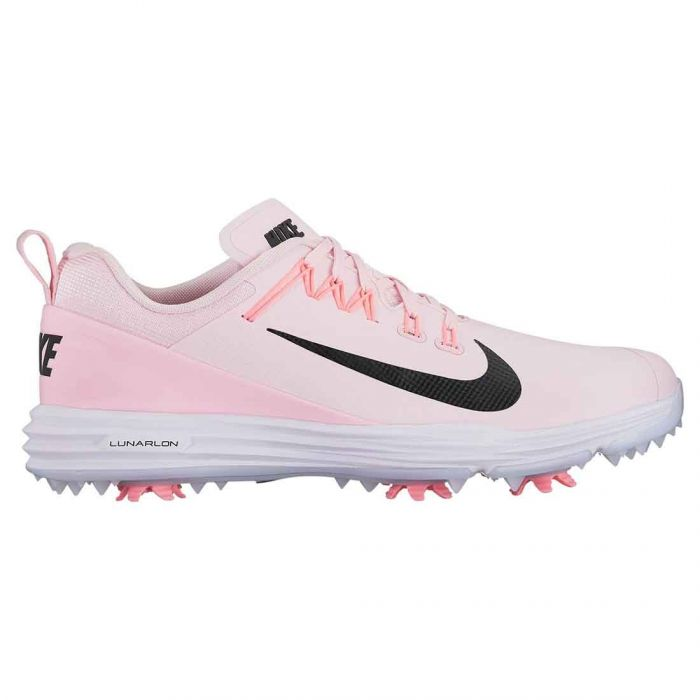 Nike Women's Lunar Command 2 Golf Shoes Arctic Pink/Black/White