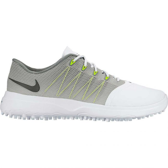 Nike Women's Lunar Empress 2 Golf Shoes White/Cool Grey