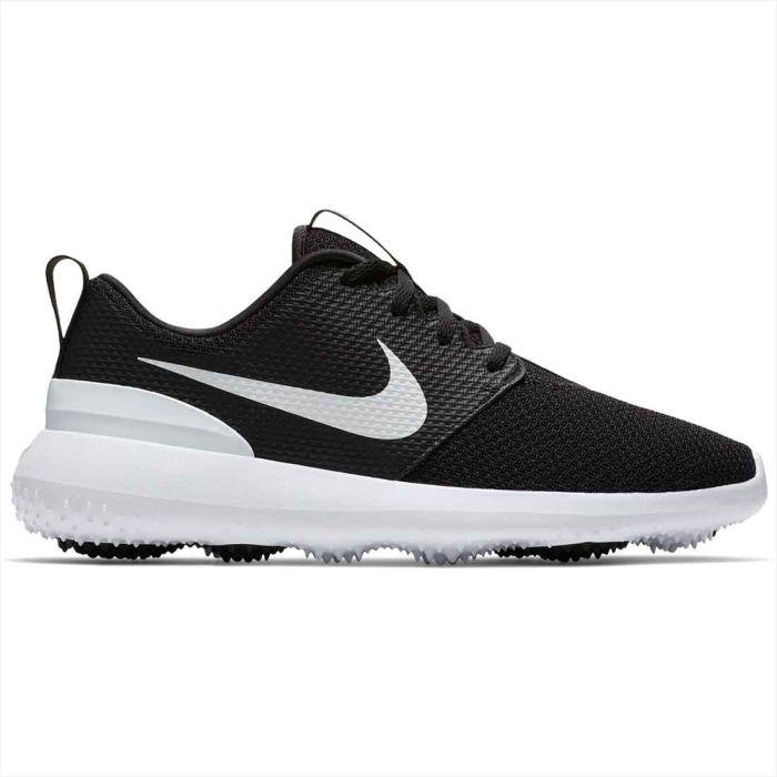 Nike Women's Roshe G Golf Shoes Black/White