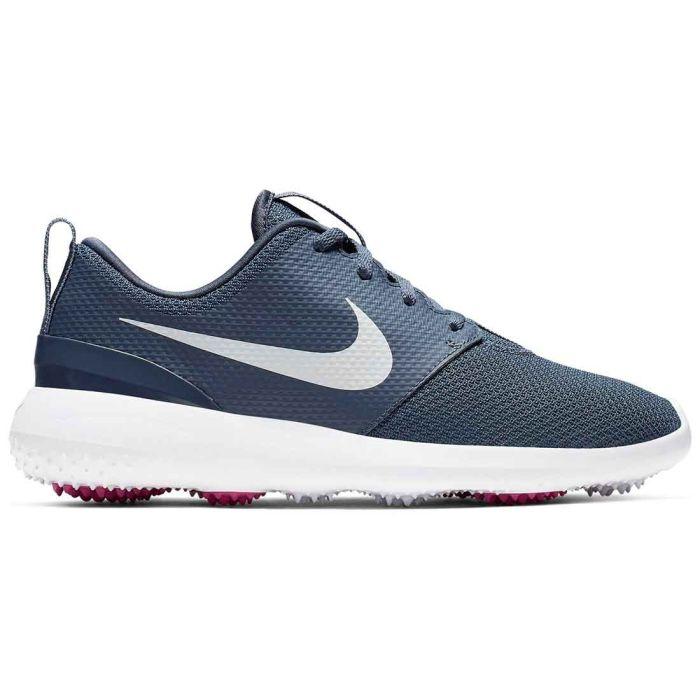 Nike Women's Roshe G Golf Shoes Monsoon Blue/White