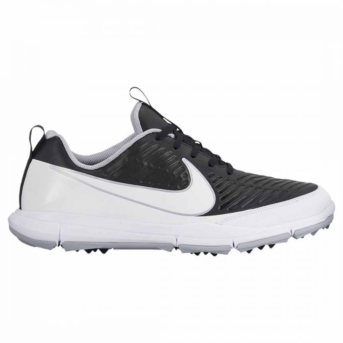 Nike Explorer 2 Golf Shoes Black/White