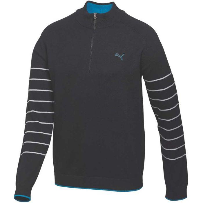 Puma Quarter-Zip Novelty Sweater
